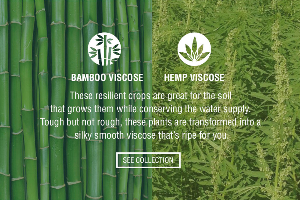 Bamboo Viscose and Hemp Viscose