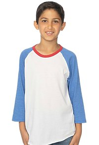 Youth Americana Raglan Baseball Shirt