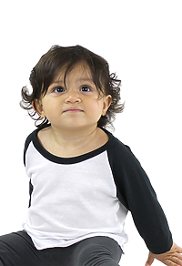 Infant Triblend Raglan Baseball Shirt