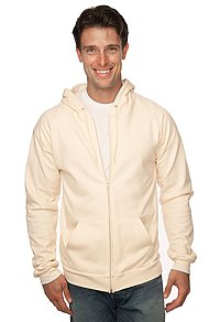 Unisex Organic Cotton Full Zip Hoodie