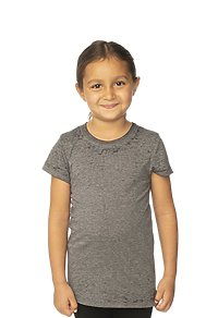 Kids Burnout Wash Short Sleeve Girls Tee