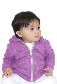 Infant Triblend Fleece Zip Hoodie