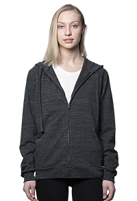 Unisex eco Triblend French Terry Full Zip Hoody