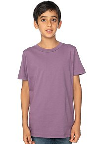 Youth Organic Short Sleeve Crew Tee